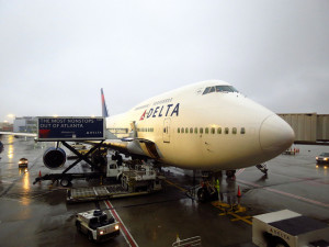 All of Delta's 747's now refurbed (Photo: Redlegsfan)