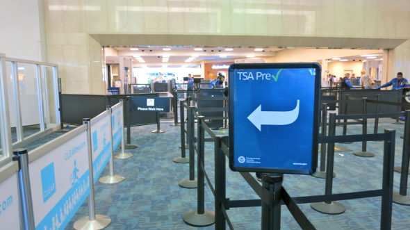 TSA PreCheck lanes (Chris McGinnis)