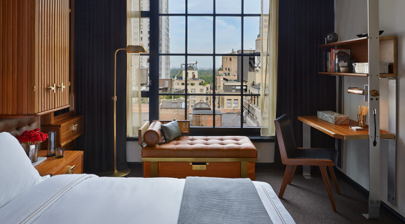 Check out the view from this room at the brand new Viceroy Hotel on 57th St. (Photo: Viceroy Hotel)