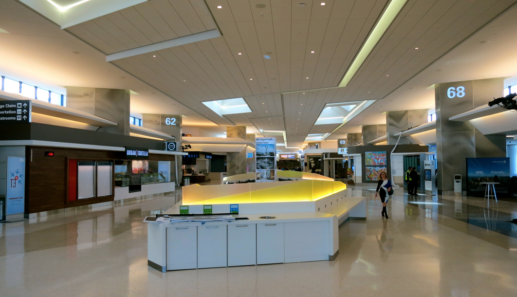 First Look Inside United S New Terminal At Sfo Travelskills