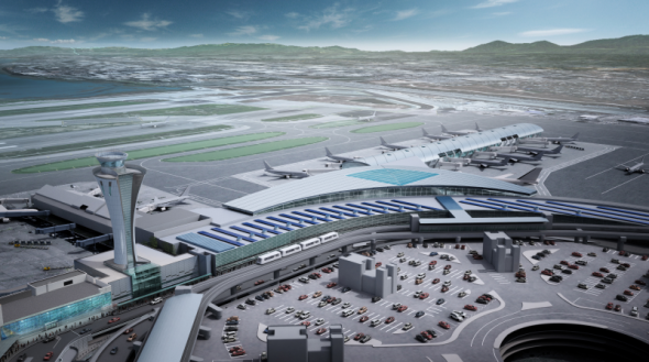 Here's a rendering of what SFO Terminal 1 will eventually look like.