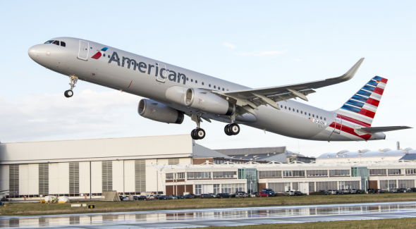 American Airlines's new Airbus A321T coming to SFO in March! (American Airlines)