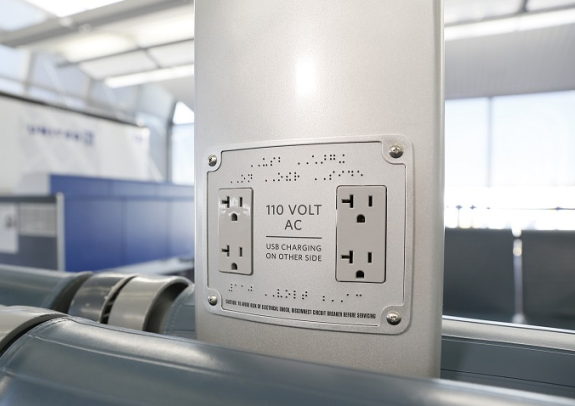 More power at United gates! (Photo: United)
