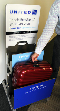 "United carry-on ""crackdown"" not all it's cracked up to be"