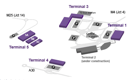 Delta's London Heathrow ops are spread between Terminals 3 and 4.