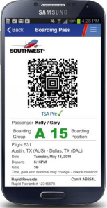 Southwest Airlines mobile boarding passes now available at all US airports