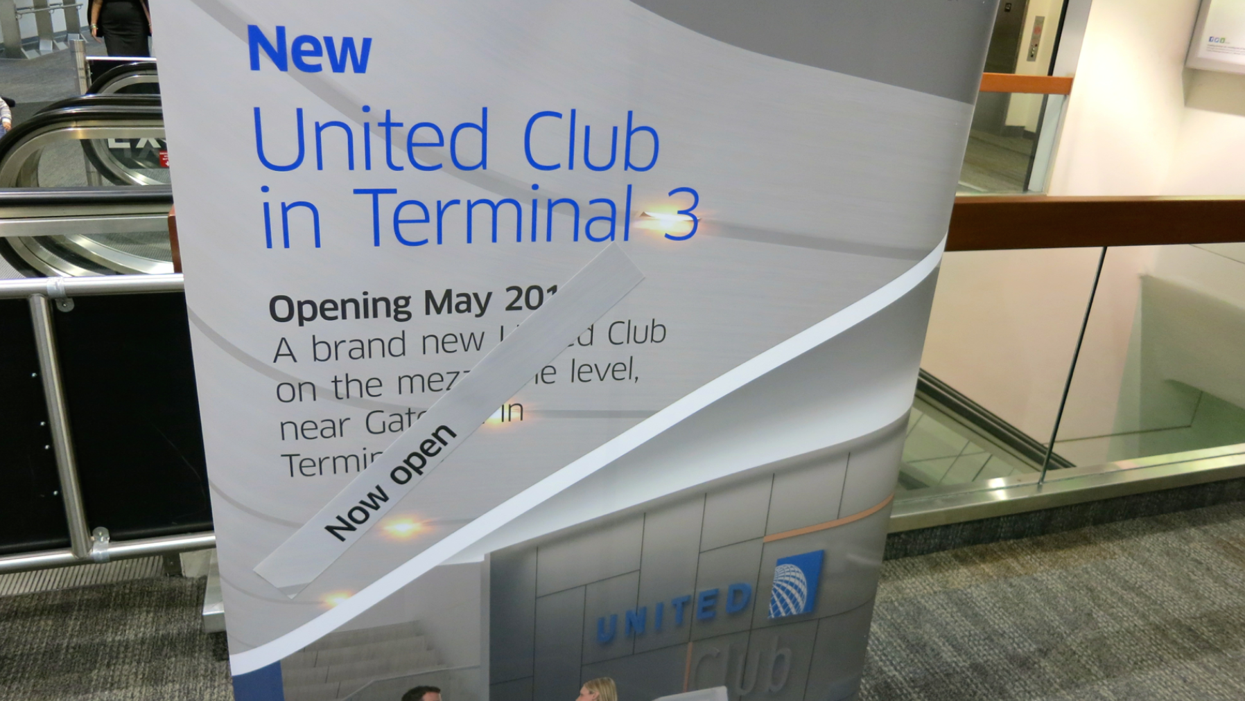 The new United Club opened on Sunday, June 8 (Photo: Chris McGinnis)