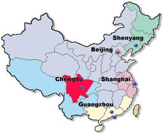 Chengdu is the capital of the Sichuan province (PATA.org)