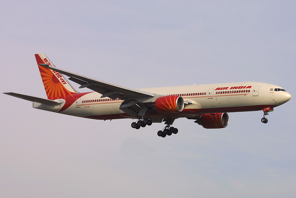 An Air India Boeing 777 (Photo: Tom Turner)