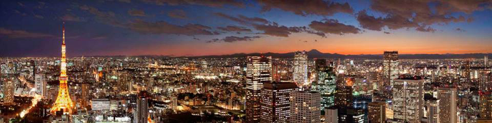 Dramatic skyline view from the newest Hyatt in Tokyo (Photo: Hyatt Hotels)