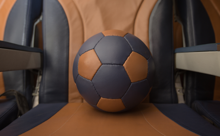 Southwest Airlines turning its old leather seats into sneakers & soccer balls (Photo: Southwest Airlines)