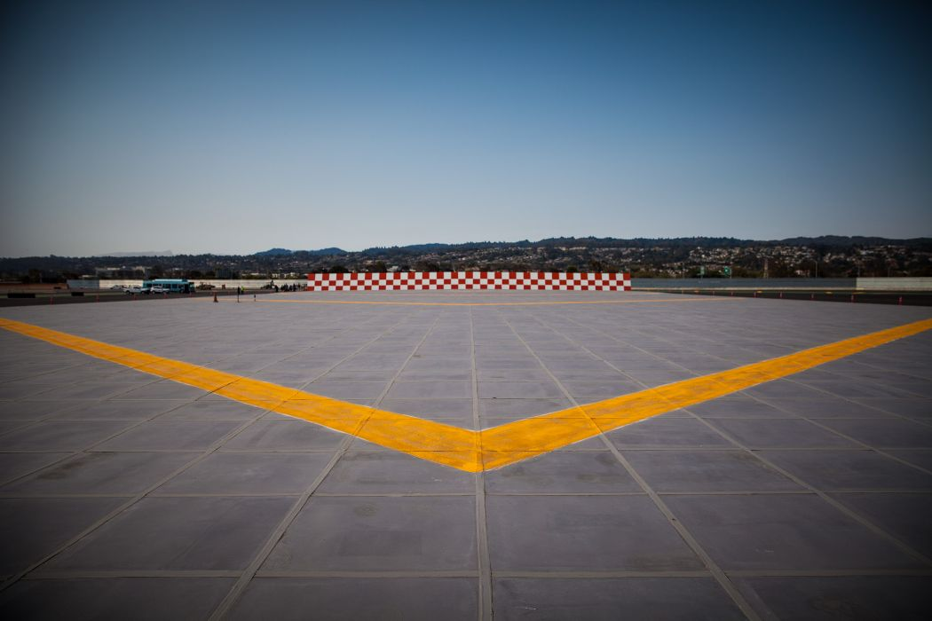 SFO's new EMAS runaway plane lane is finished! All 4 runways now open (Photo: SFO)