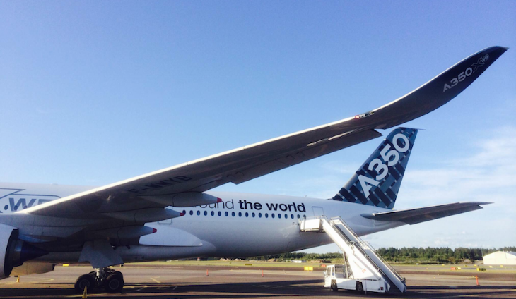 A spin around the new Airbus A350 - TravelSkills