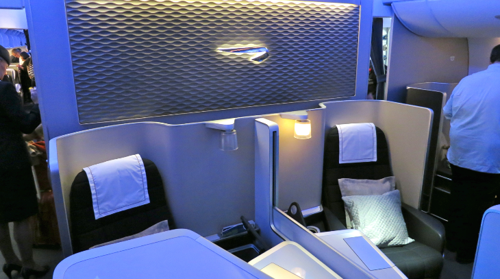 British Airways posh first class suites onboard its new Airbus A380 (Photo: Chris McGinnis)