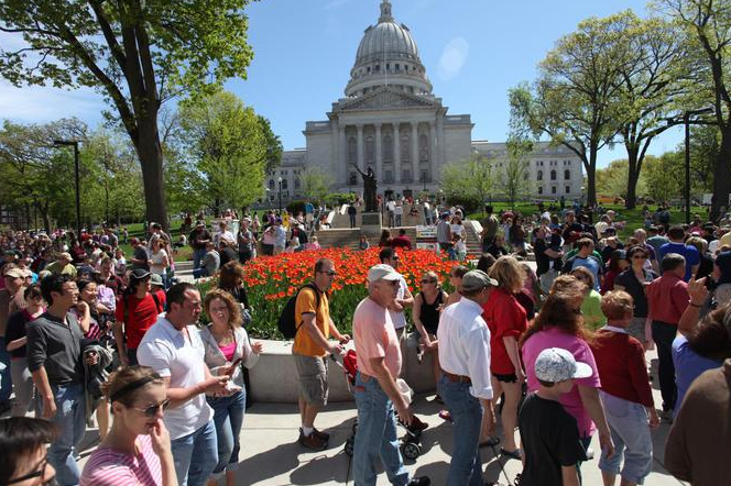 Madison is the capital of Wisconsin (John Maniani)