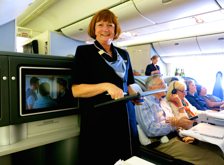 Love your United FA, then say so via the carrier's website (Photo: Chris McGinnis)