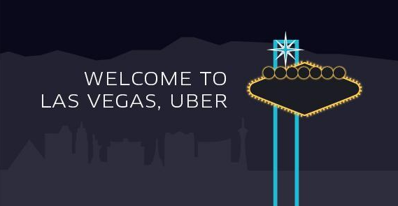 Uber now in Vegas, maybe