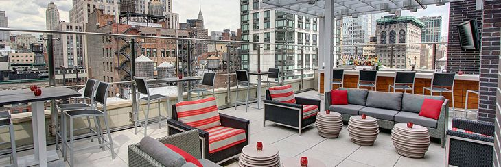 The aerie atop the new Hyatt Herald Square in NYC (Photo: Hyatt)