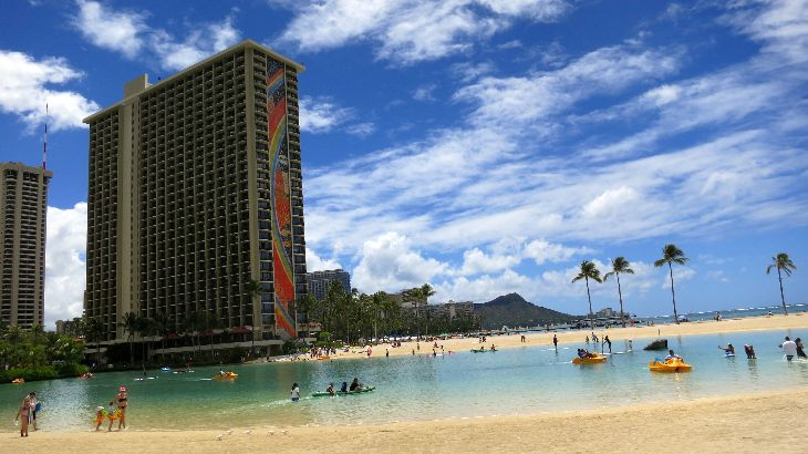 Honolulu for $89 plus change? It's possible! This is Hilton Hawaiian Village (Chris McGinnis)