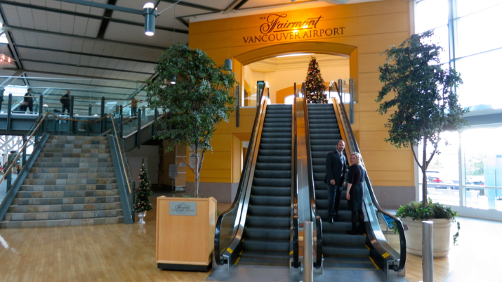 Did you know that there's a five star hotel (with a great bar) inside Vancouver Airport? Photo: Chris McGinnis
