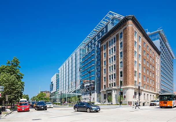 One of Marriott's newest, largest hotels is on sale today only! Marriott Marquis Washington DC