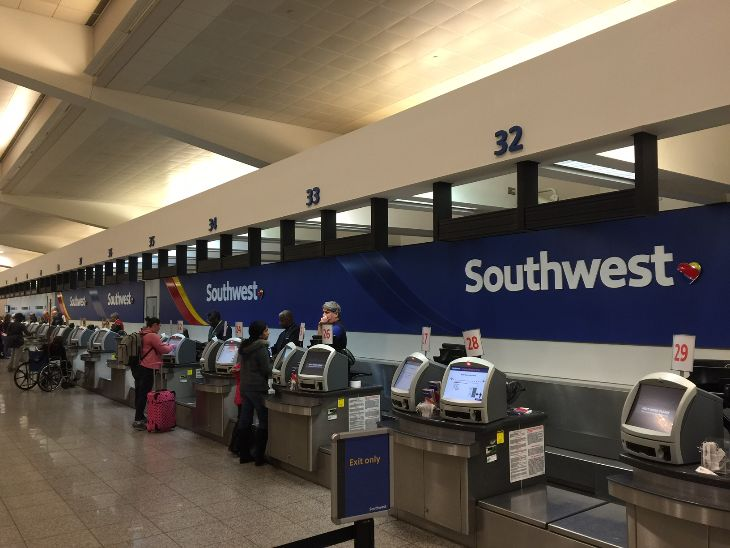 It's all Southwest, all the time at ATL these days. AirTran is no longer visible (Photo: Chris McGinnis)