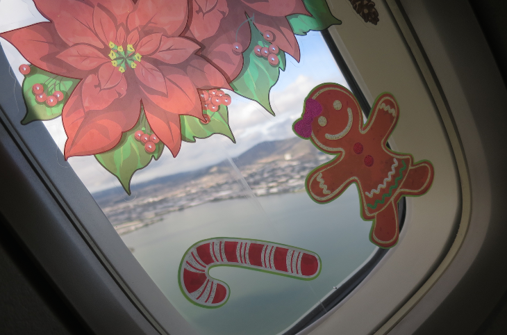 It's hard not to smile when you share beautiful views of San Francisco, with candy canes and gingerbread men.