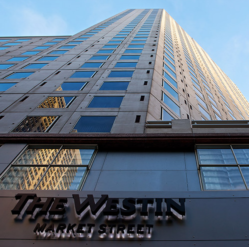 The Westin Market Street has a new name. (Photo: AAA)