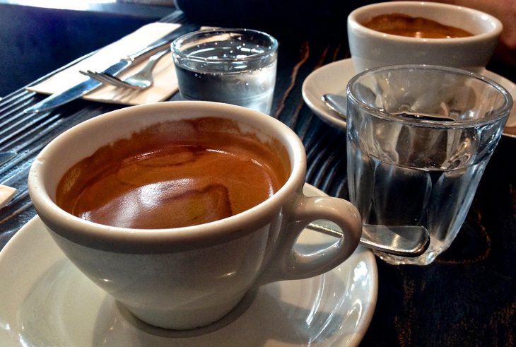 A long black coffee contains espresso and hot water (Katherine Lim / Flickr)