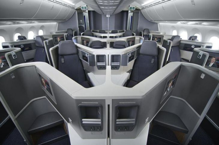 American Airlines 787 - Business Class
