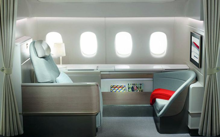 Air France's chic new La Premiere suite (Photo: Air France)