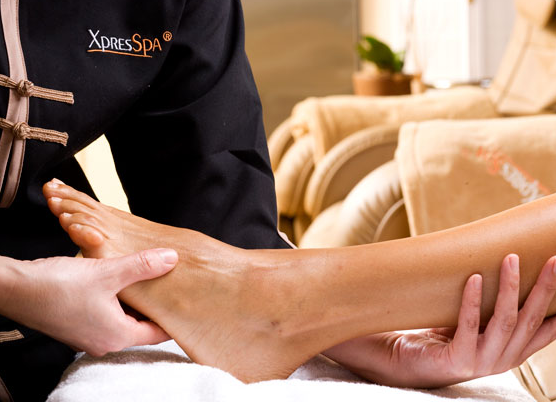 Did you know that foot massage is the most requested service at airport XpresSpas?