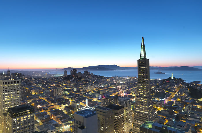 The stunning view from the 48th floor of the soon-to-be Loews San Francisco (Photo: Mandarin Oriental)