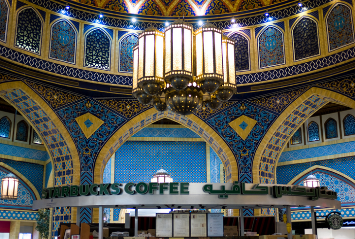 Starbucks in Dubai? (Photo: Joi Ito / Flikr)