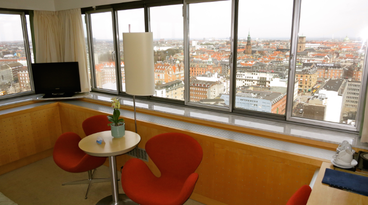 The view from my room at the Radisson Blu Royal hotel in Copenhagen (Photo: Chris McGinnis)