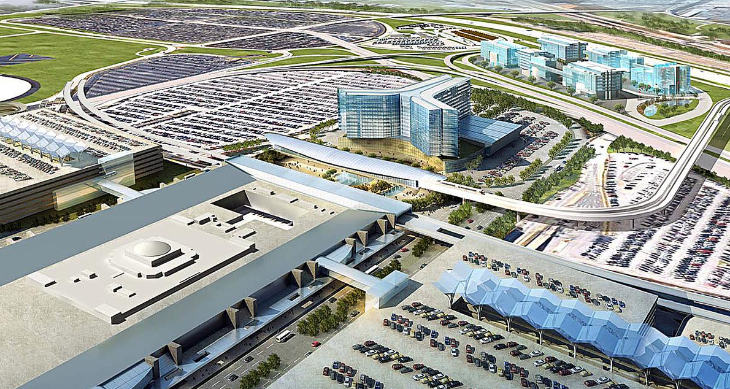 Residences at ATL would be in hotel located in the western edge of main terminal (Image: Hartsfield-Jackson)