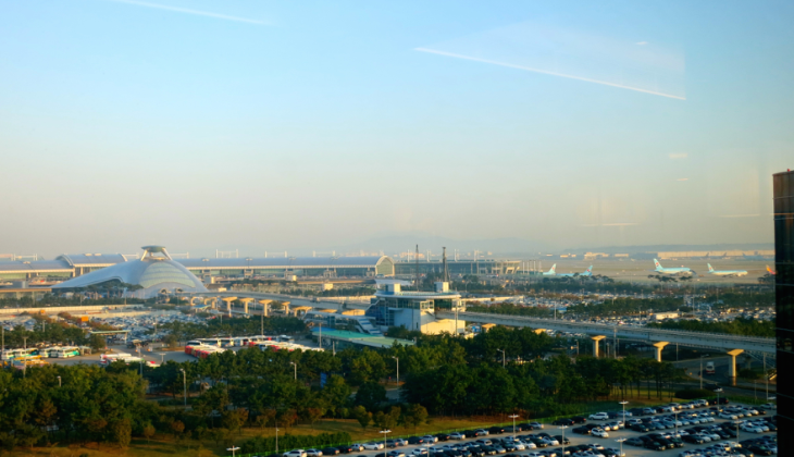 The view from my room at the brand new Hyatt Seoul Incheon (Photo: Chris McGinnis)