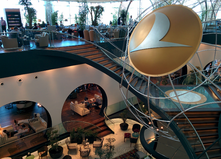 Not to be missed: Turkish Airlines two-level lounge at Istanbul Ataturk. Wow. (Photo: James Cridland / Flickr)