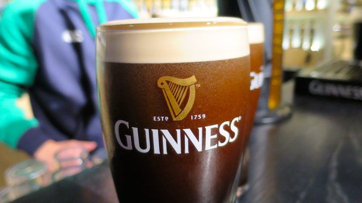 Learn how to pour a perfect pint at the Guinness Storehouse in Dublin (Chris McGinnis)
