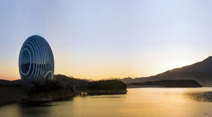 The new Kempinski Beijing looks like it belongs on another planet! (Photo: Kempinski)