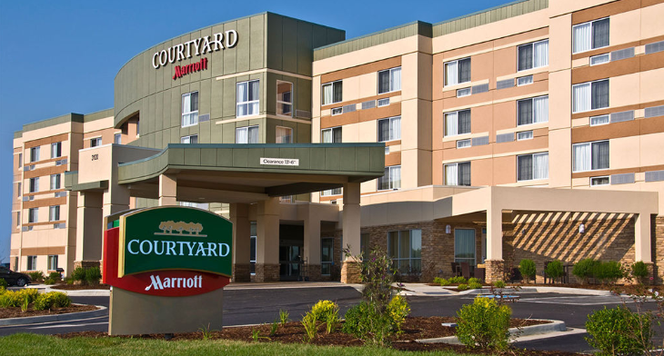 A brand new Marriott Courtyard in Salisbury, NC (Marriott)