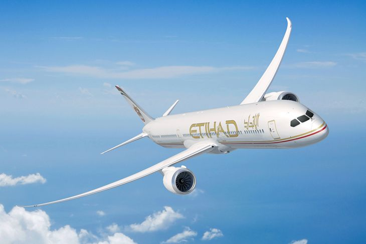 A shiny new Etihad Boeing 787 (Photo: Etihad)