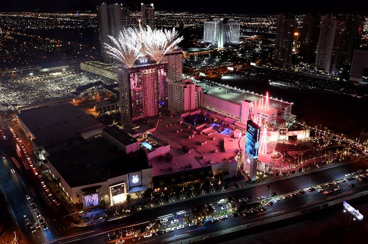 Opening night at the SLS Las Vegas (Photo: SLS)