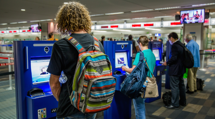 International passengers arriving at SFO can now use faster kiosks at customs (Photo: SFO)