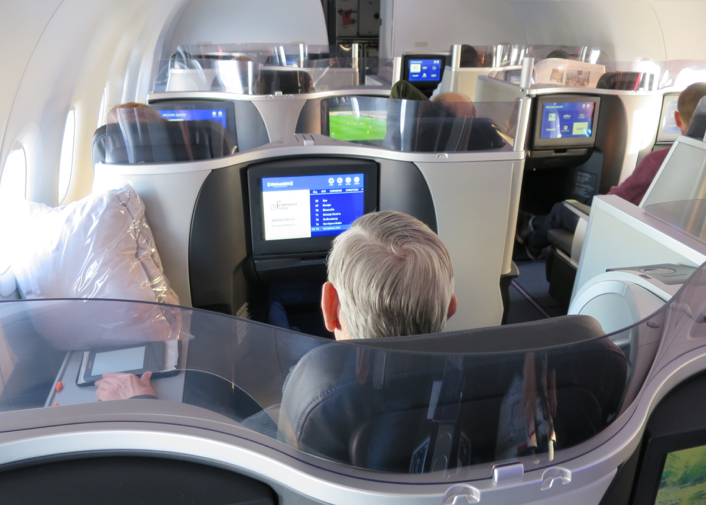 Only a handful of these very special seats on JetBlue and Aer Lingus (Chris McGinnis)