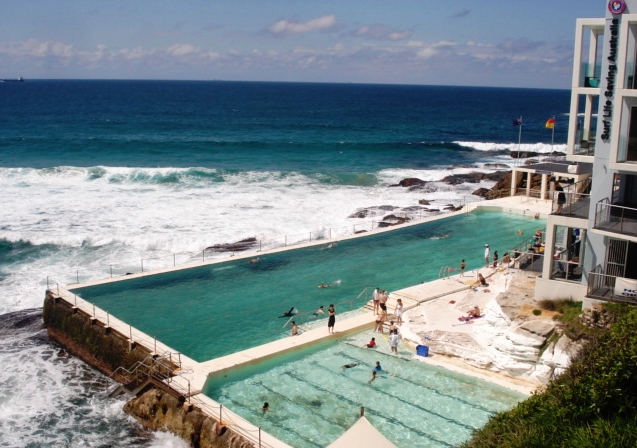 "Access to the great outdoors and Sydney's ""rock pools"" make Australians smile (Chris McGinnis)"