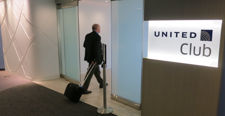 Access to United Clubs comes with the Explorer card! (Photo: Chris McGinnis)