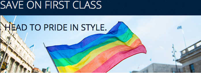 Delta's flying the big gay flag with first class discounts in June