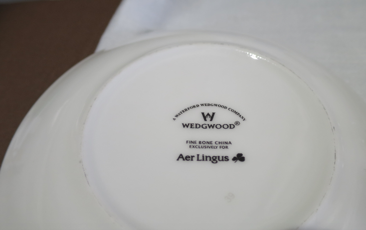 All food served on Wedgewood China (Chris McGinnis)