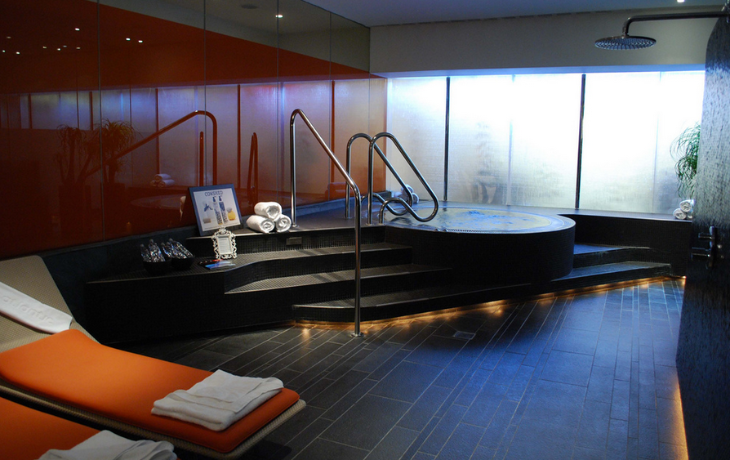 The spa at Virgin Atlantic's London Heathrow Clubhouse (Photo: Josh Friedman)